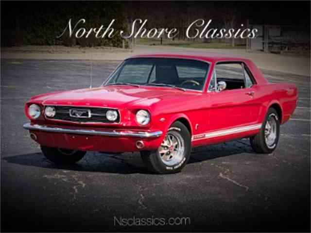 Picture of Classic '66 Ford Mustang located in Mundelein Illinois - NMLU