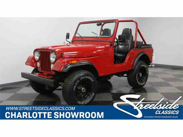 Picture of '78 Jeep CJ5 located in North Carolina - $15,995.00 Offered by  - NMTY