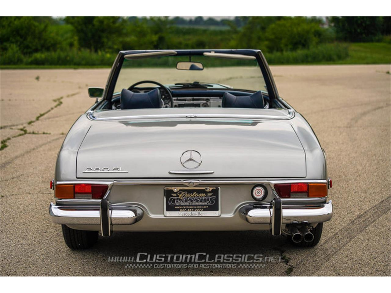 Large Picture of 1970 Mercedes-Benz 280SL located in Island Lake Illinois - $68,500.00 Offered by Custom Classics - NMYI