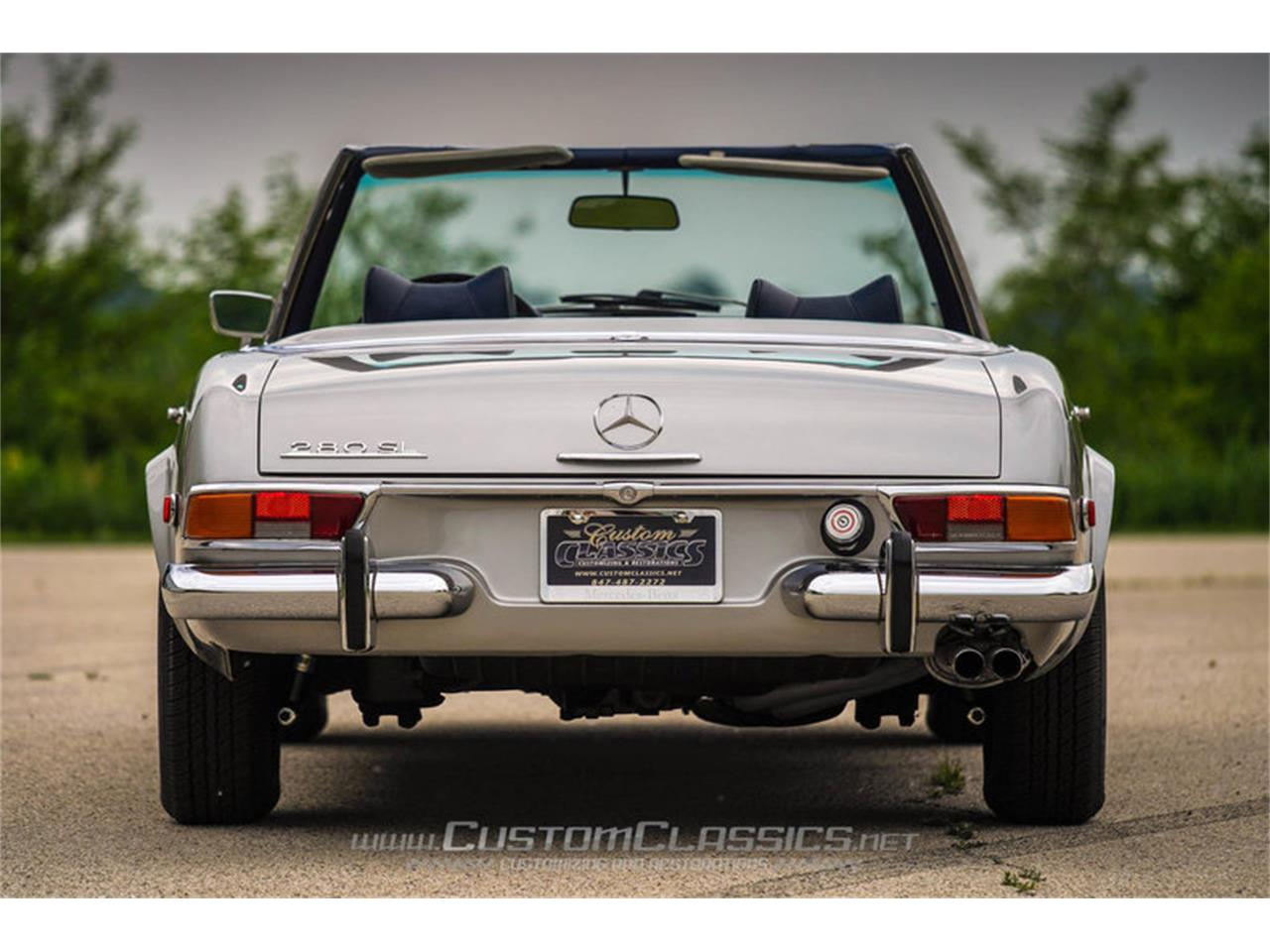 Large Picture of Classic '70 280SL located in Illinois - $68,500.00 Offered by Custom Classics - NMYI