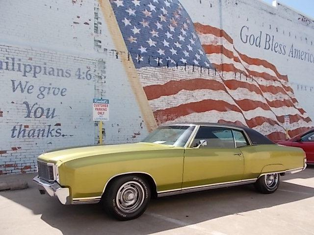 Picture of 1971 Monte Carlo located in Oklahoma - $17,500.00 Offered by  - NMZS