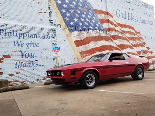 Picture of 1972 Ford Mustang Mach 1 located in Oklahoma - $19,950.00 - NN03