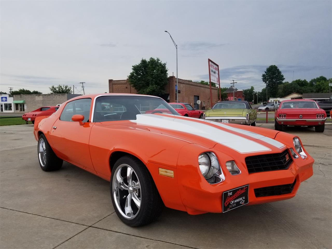 Large Picture of 1978 Chevrolet Camaro Z28 located in Skiatook Oklahoma Offered by Larry's Classic Cars - NN06