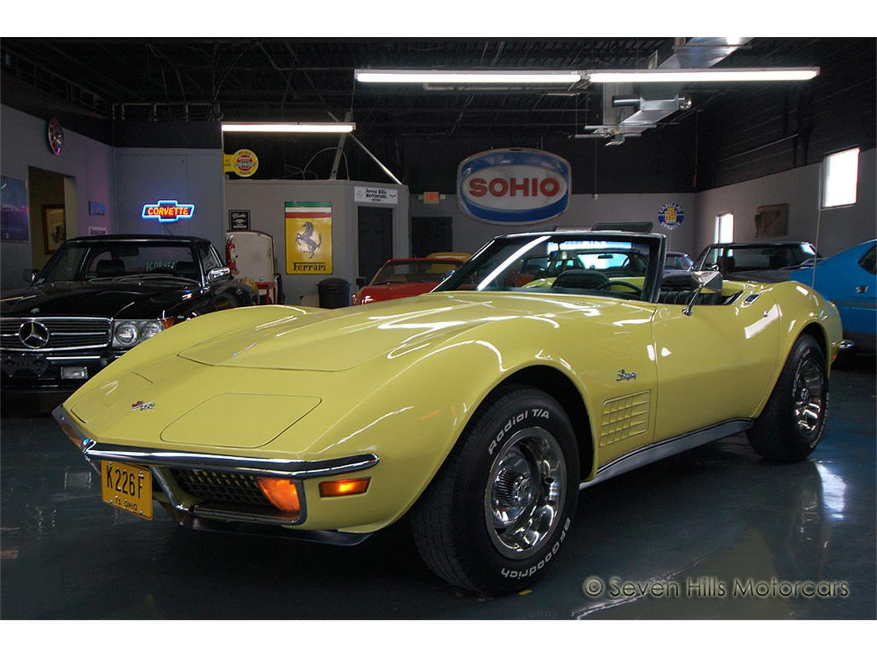 Large Picture of '71 Chevrolet Corvette located in Ohio - NN0A