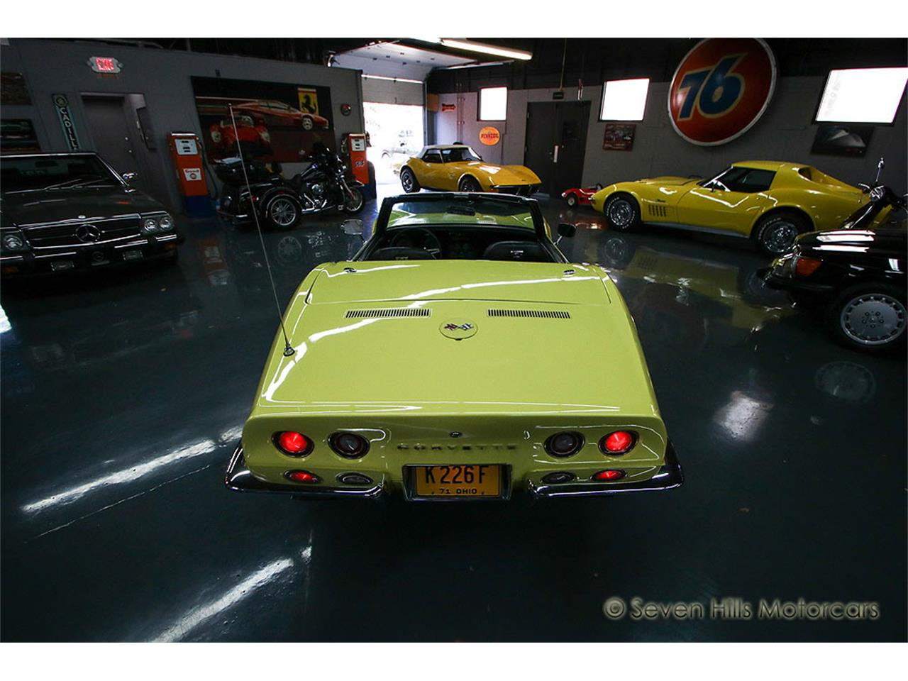 Large Picture of 1971 Corvette located in Cincinnati Ohio - $27,900.00 Offered by Seven Hills Motorcars - NN0A