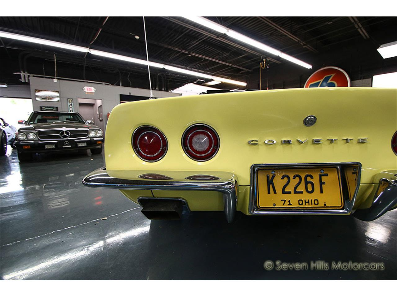 Large Picture of '71 Chevrolet Corvette located in Ohio Offered by Seven Hills Motorcars - NN0A