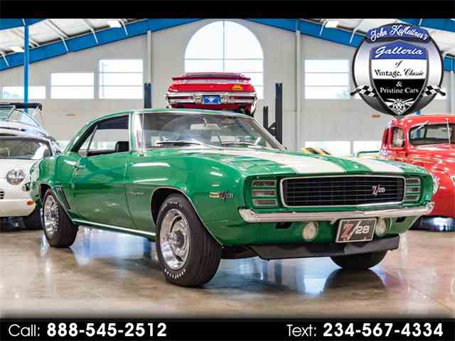 Picture of 1969 Chevrolet Camaro located in Ohio Auction Vehicle - NN23