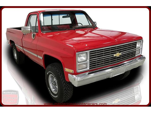 Picture of '84 Chevrolet K-10 located in Whiteland Indiana - $19,900.00 Offered by  - NN5S