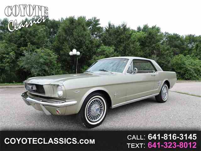 Picture of Classic '66 Mustang located in Greene Iowa - $13,995.00 - NN9G