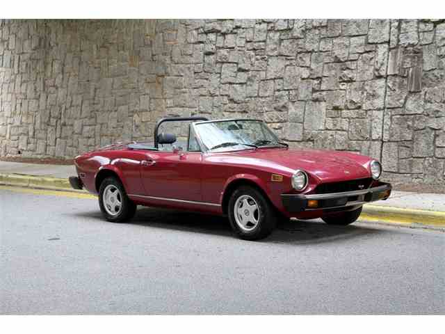Clic Fiat Spider for Sale on ClicCars.com