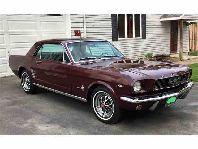 Picture of '66 Ford Mustang located in Westminster Vermont - $19,495.00 Offered by a Private Seller - NNDA