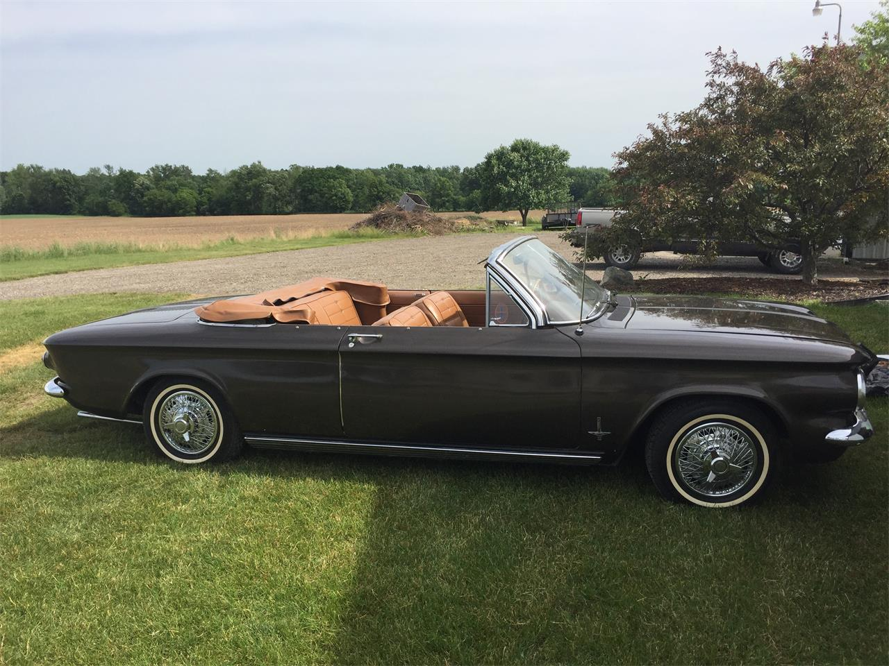 Large Picture of 1963 Chevrolet Corvair Monza located in Michigan - $11,500.00 Offered by a Private Seller - NNDG