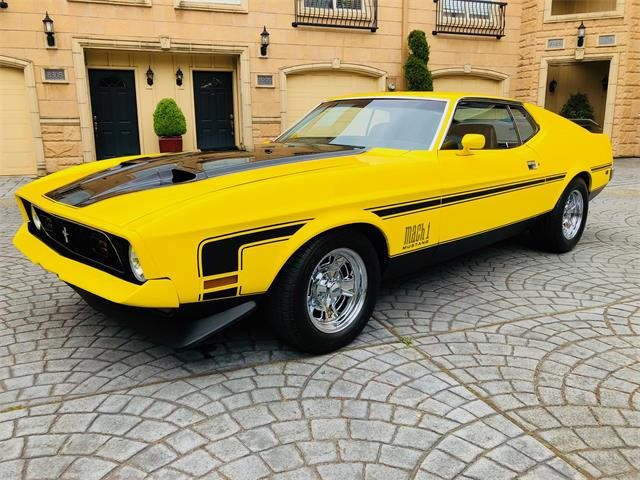 Picture of '71 Mustang Mach 1 - NNDT