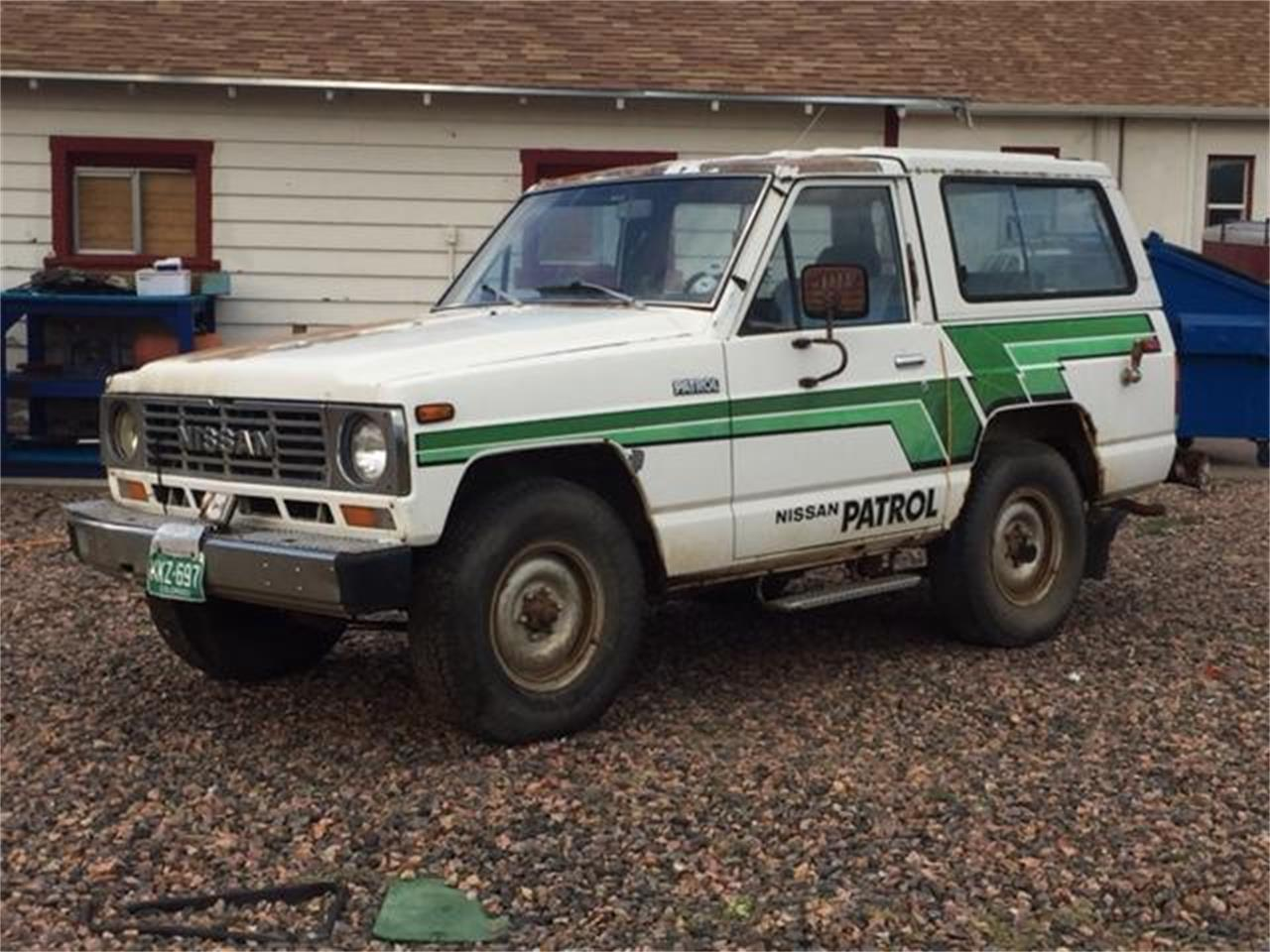 Large Picture of '83 Nissan Patrol located in Colorado - $13,900.00 - NNF8