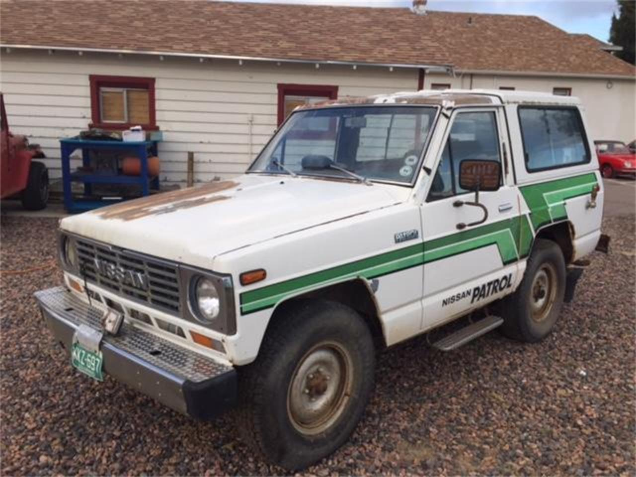 Large Picture of '83 Nissan Patrol located in West Denver Colorado Offered by a Private Seller - NNF8