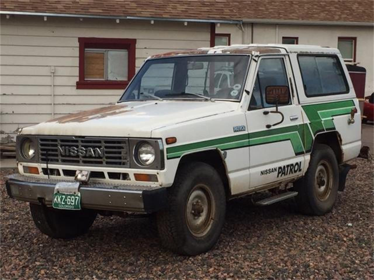 Large Picture of '83 Nissan Patrol located in West Denver Colorado - $13,900.00 - NNF8