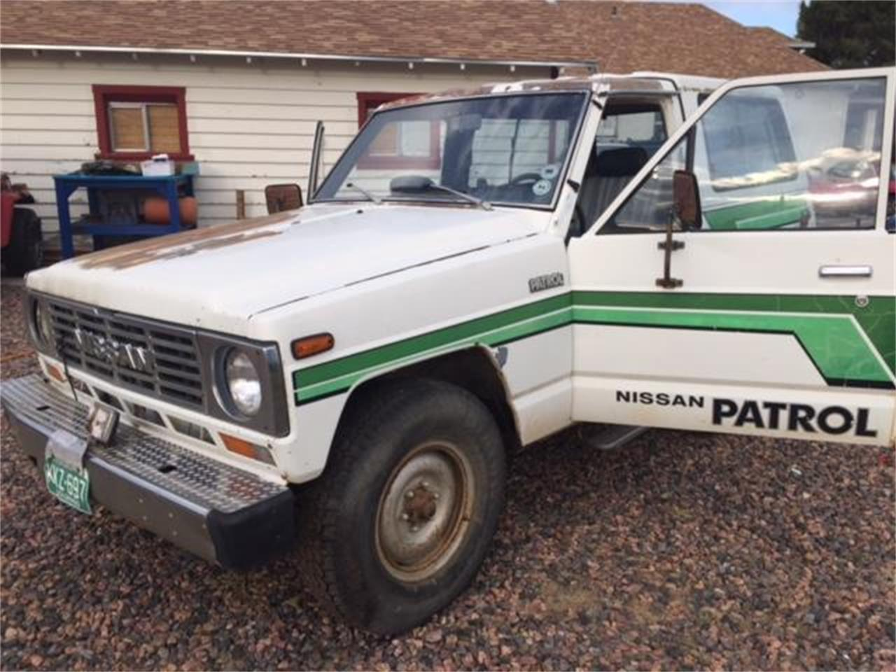 Large Picture of '83 Nissan Patrol - NNF8