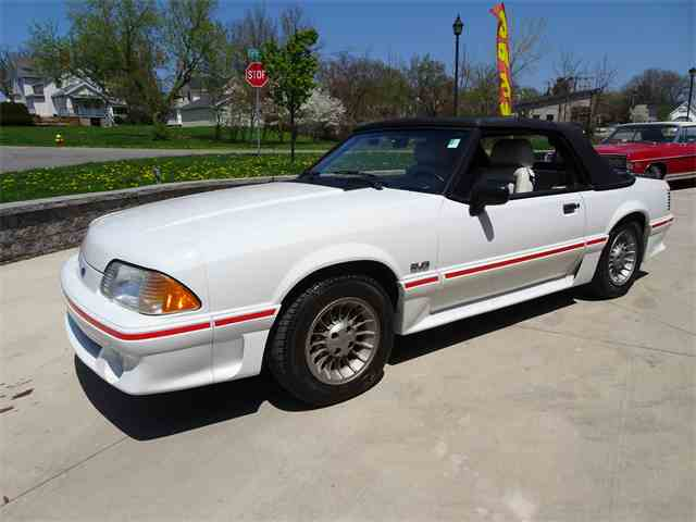 Picture of '88 Ford Mustang GT Auction Vehicle Offered by  - NNHX