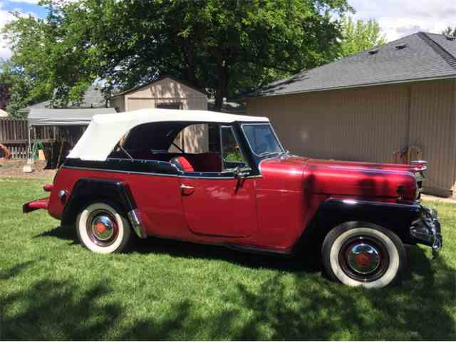 Picture of Classic 1950 Jeepster Auction Vehicle Offered by  - NNOB