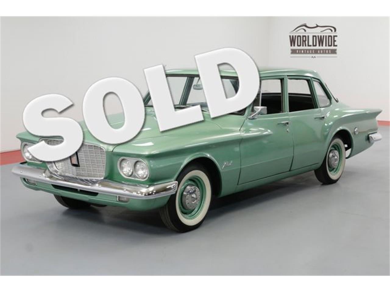 For Sale: 1960 Chrysler Valiant in Denver , Colorado