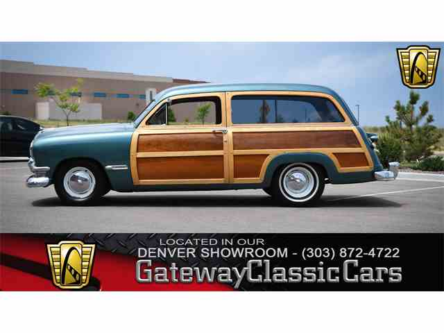Picture of Classic 1950 Ford Woody Wagon located in Illinois - $73,000.00 Offered by  - NNSK