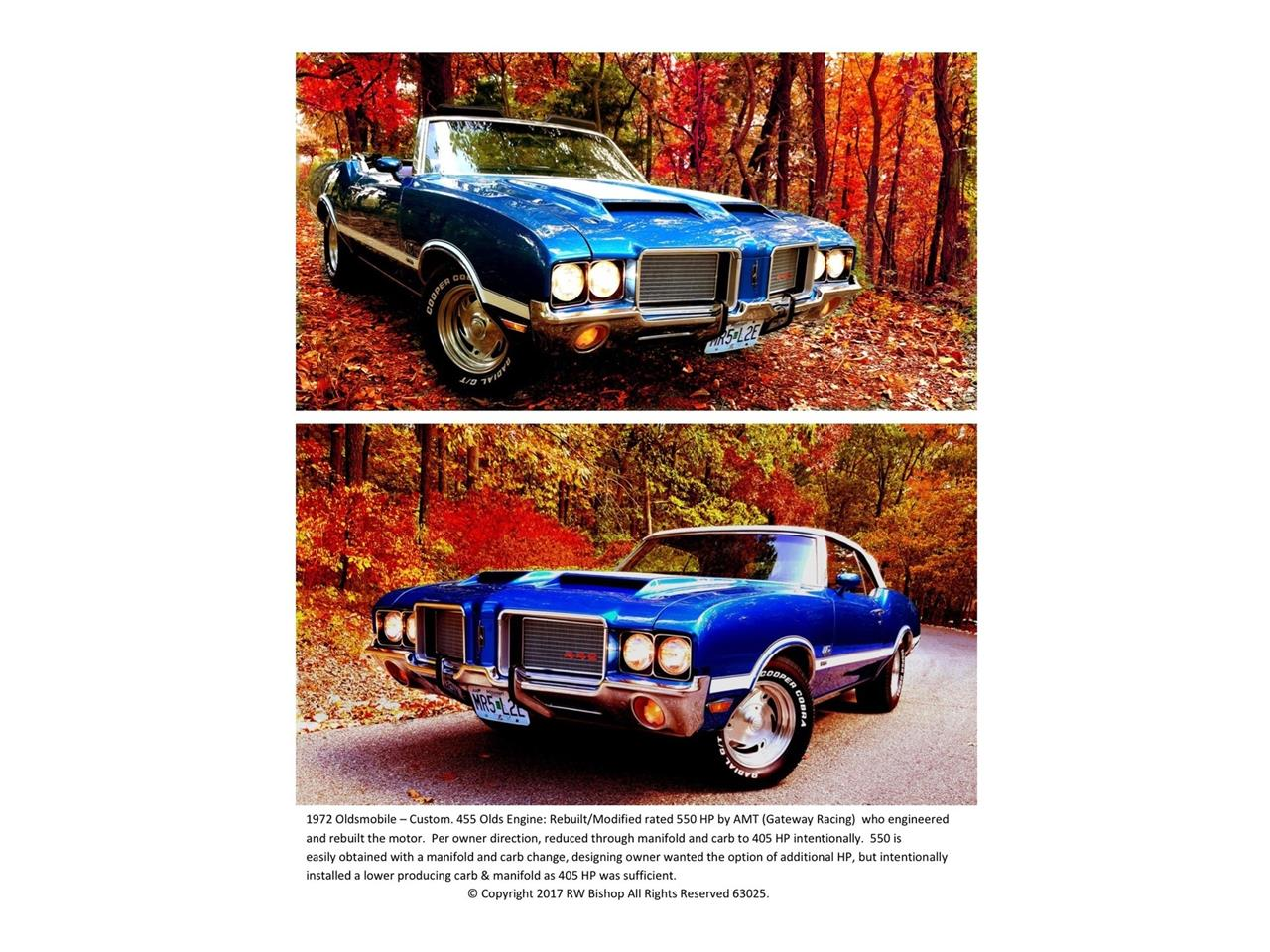 Large Picture of Classic 1972 Cutlass 422 - $75,550.00 - NO0D