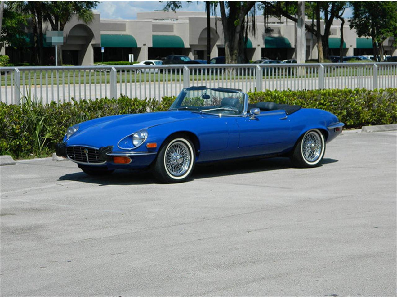 Large Picture of Classic '73 Jaguar XKE located in Greensboro North Carolina - NO0U
