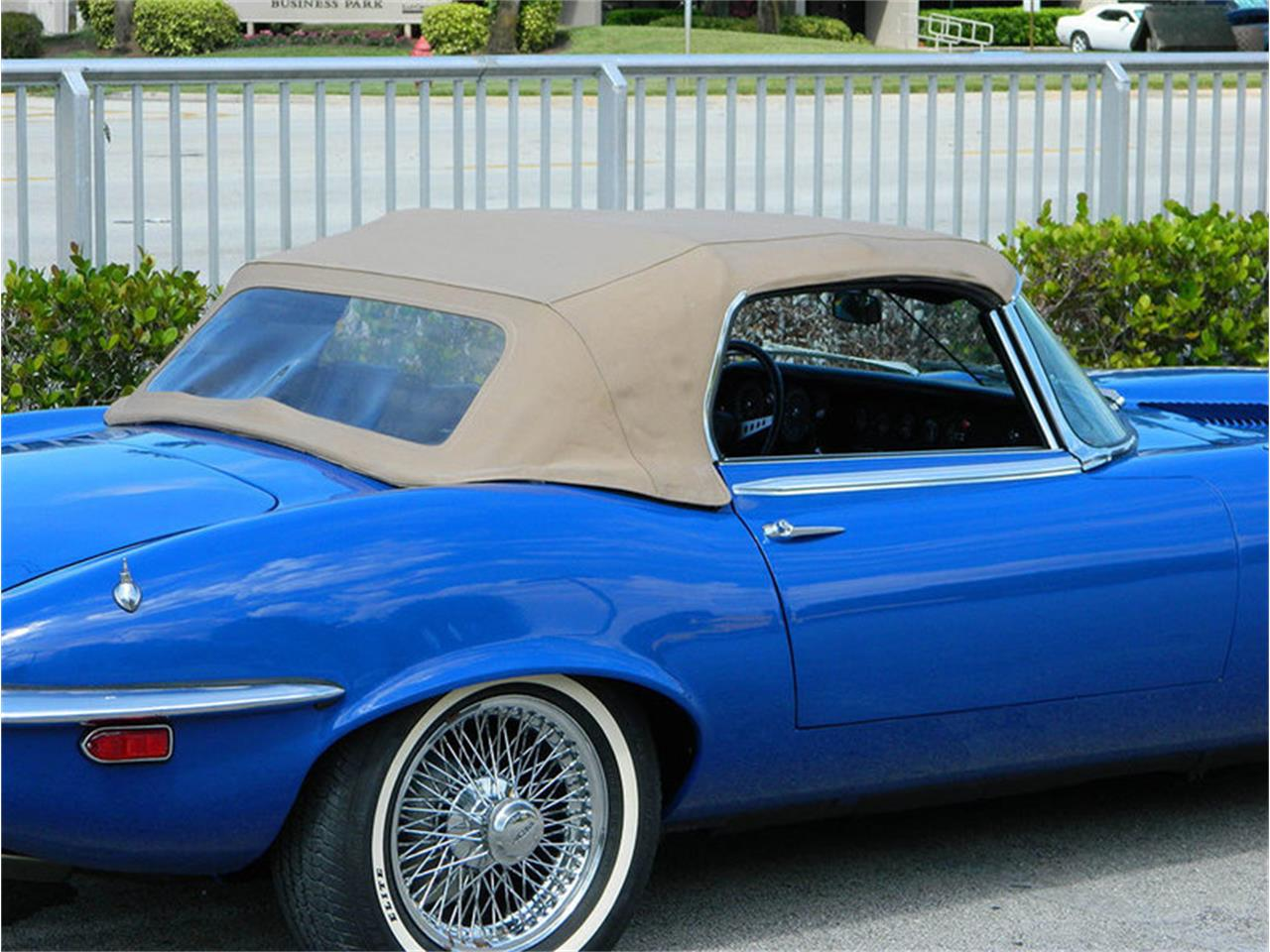 Large Picture of Classic '73 Jaguar XKE located in Greensboro North Carolina Auction Vehicle Offered by GAA Classic Cars Auctions - NO0U