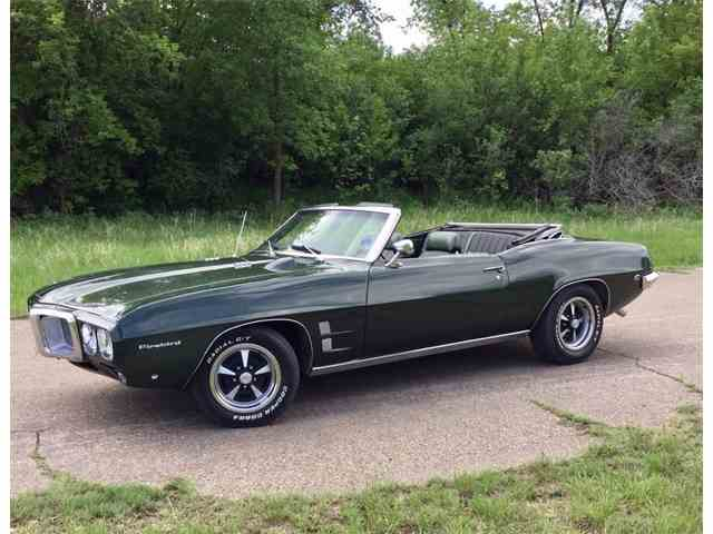 1969 Pontiac Firebird For Sale On Classiccars Com