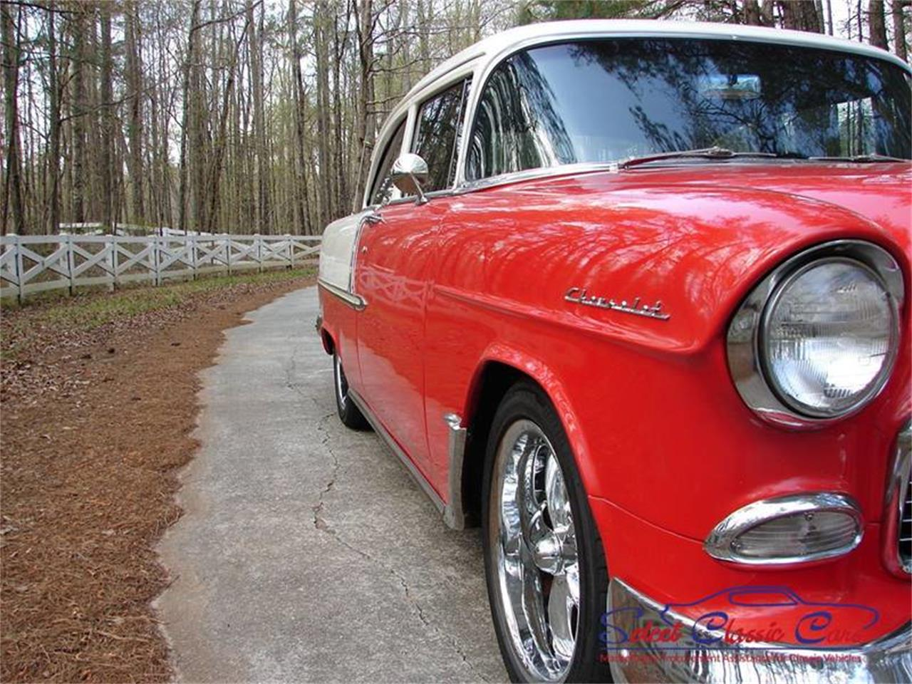 Large Picture of '55 Chevrolet Bel Air located in Hiram Georgia Offered by Select Classic Cars - NO8J
