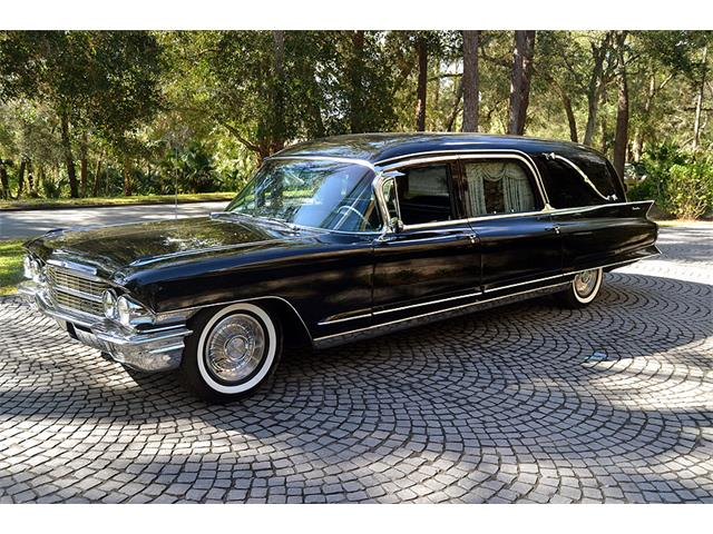 Picture of Classic 1962 Cadillac Eureka Landau Funeral Coach located in Florida - NOAC