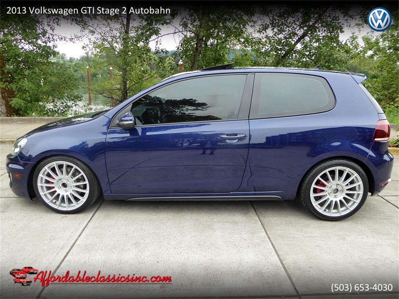 2013 Volkswagen Gti For Sale Classiccars Com Cc 1104642