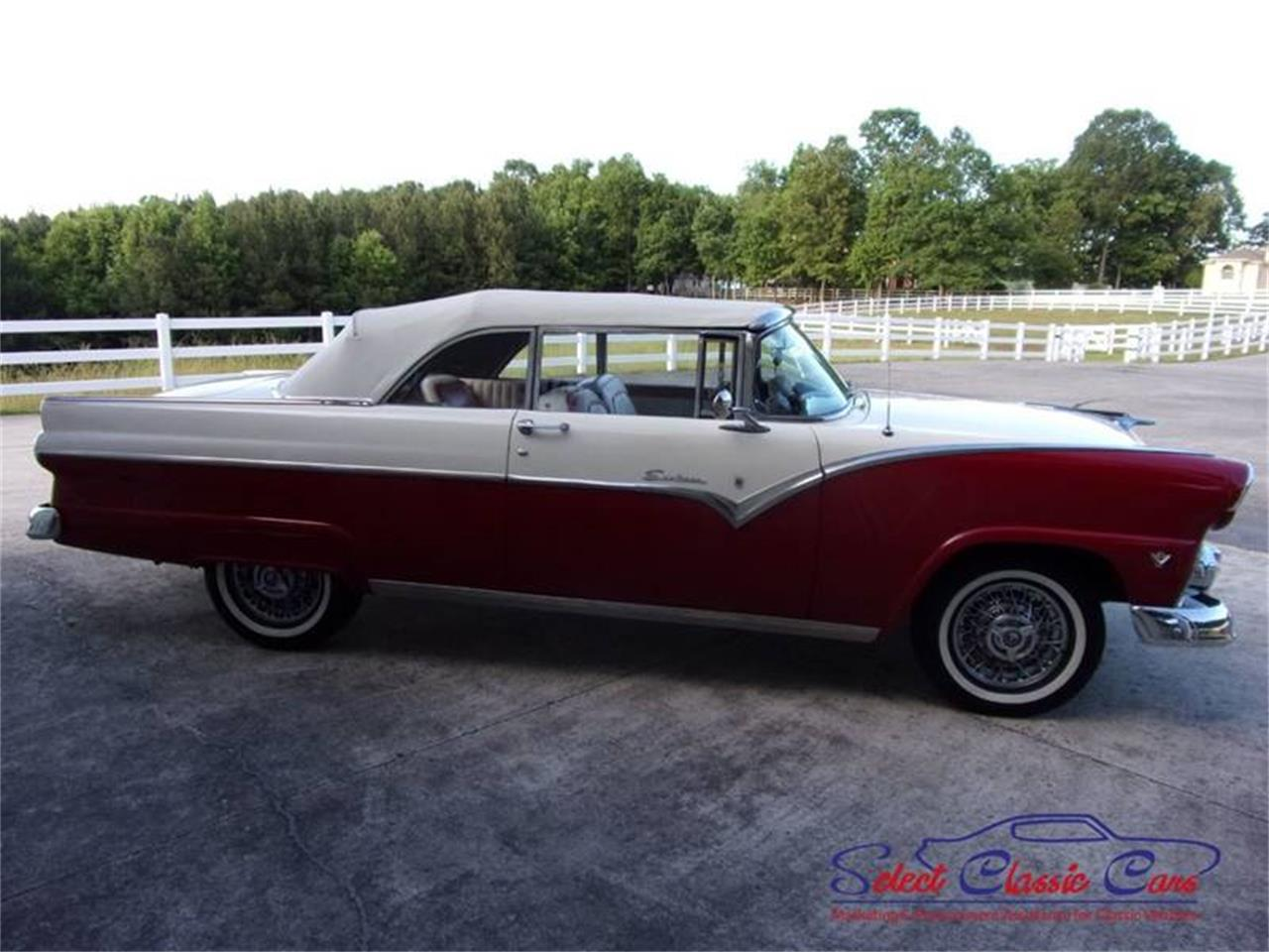 Large Picture of 1955 Ford Skyliner Offered by Select Classic Cars - NOFH