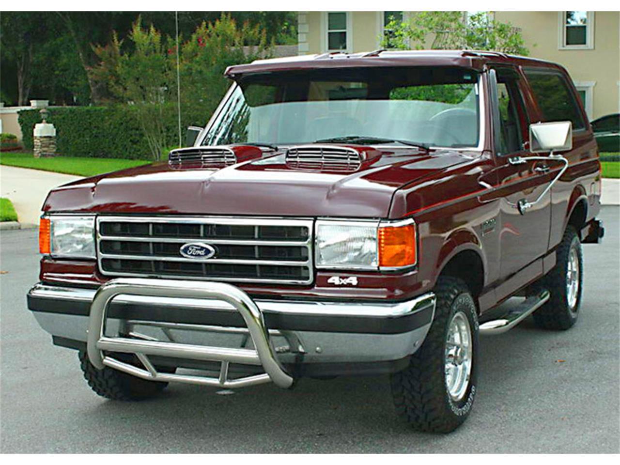 1991 ford bronco for sale classiccars com cc 1104790