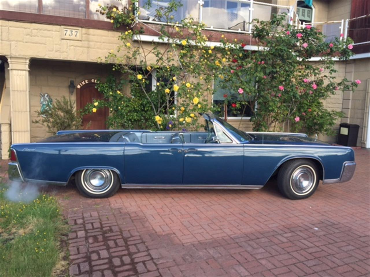 Large Picture Of Clic 1964 Lincoln Continental Located In Point Roberts Washington 47 000 00 Nogx
