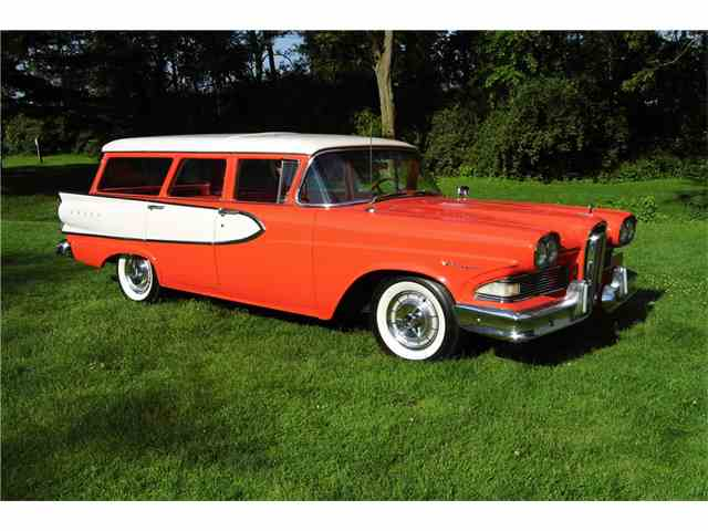 Picture of Classic '58 Edsel Villager located in Connecticut Auction Vehicle - NL5L