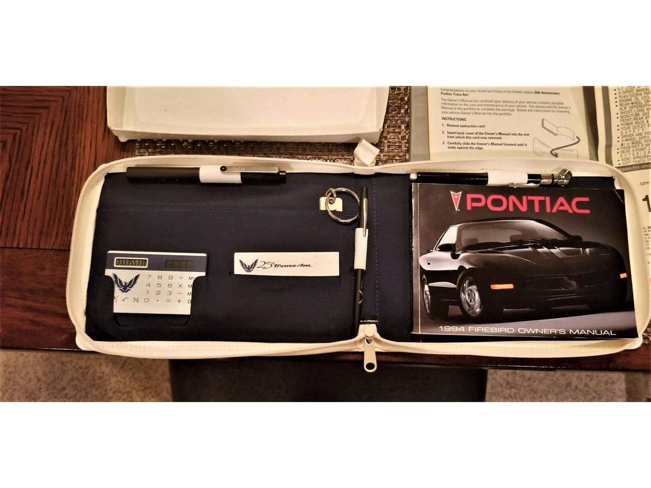 Large Picture of 1994 Pontiac Firebird Trans Am - NOQC