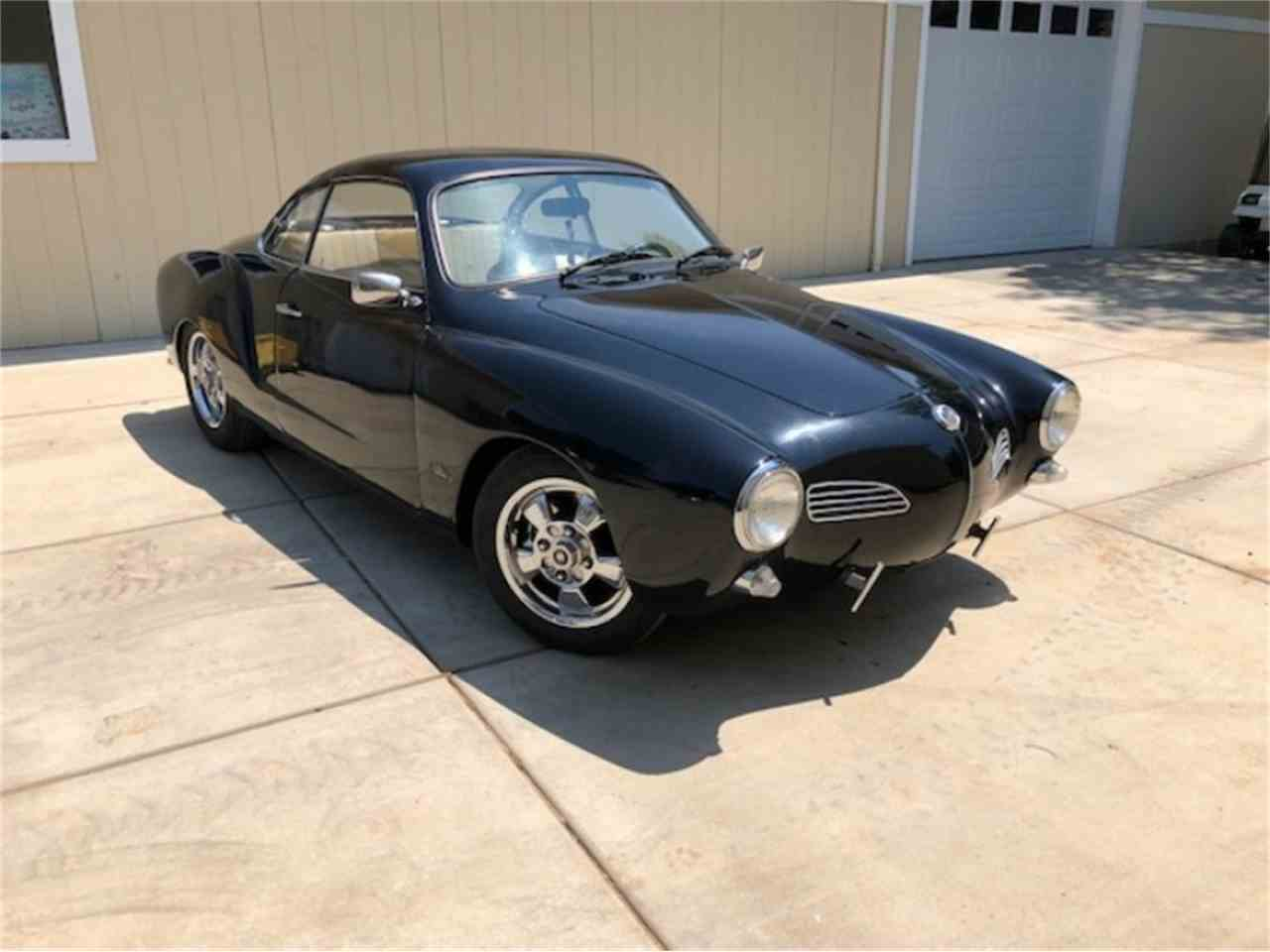 Large Picture of Classic 1968 Karmann Ghia Auction Vehicle - NL61