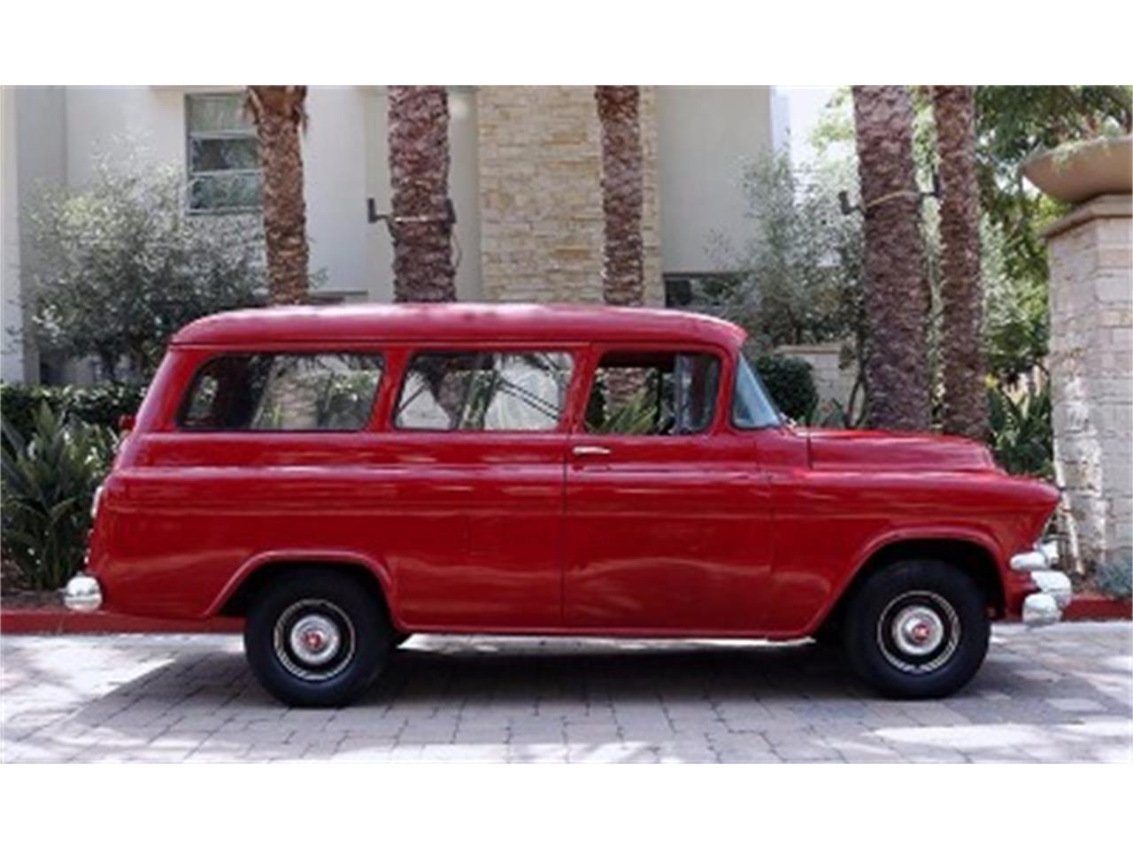 Large Picture of Classic 1956 GMC Suburban located in Mundelein Illinois - $34,900.00 - NOWV