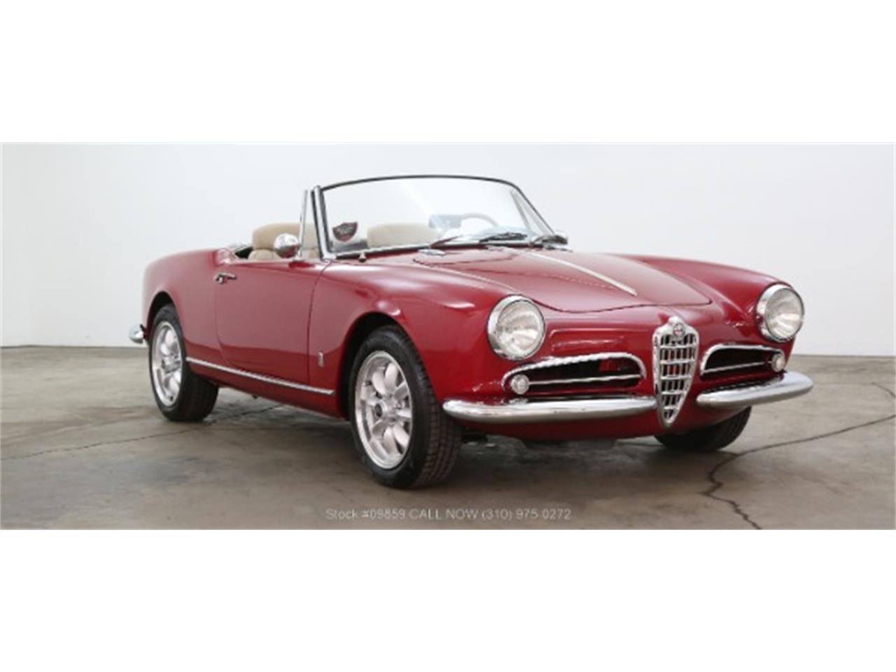 1960 alfa romeo giulietta spider for sale   classiccars   cc-1105408