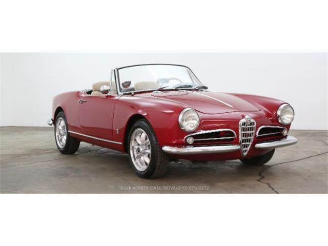 Picture of Classic '60 Alfa Romeo Giulietta Spider located in California - $52,500.00 - NOXS