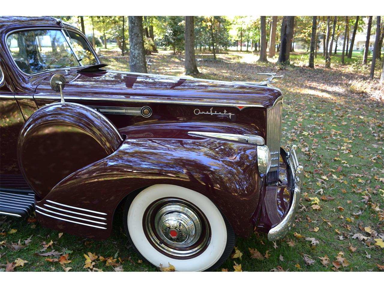 Large Picture of 1941 Packard 160 located in Severn Maryland Offered by a Private Seller - NOYK