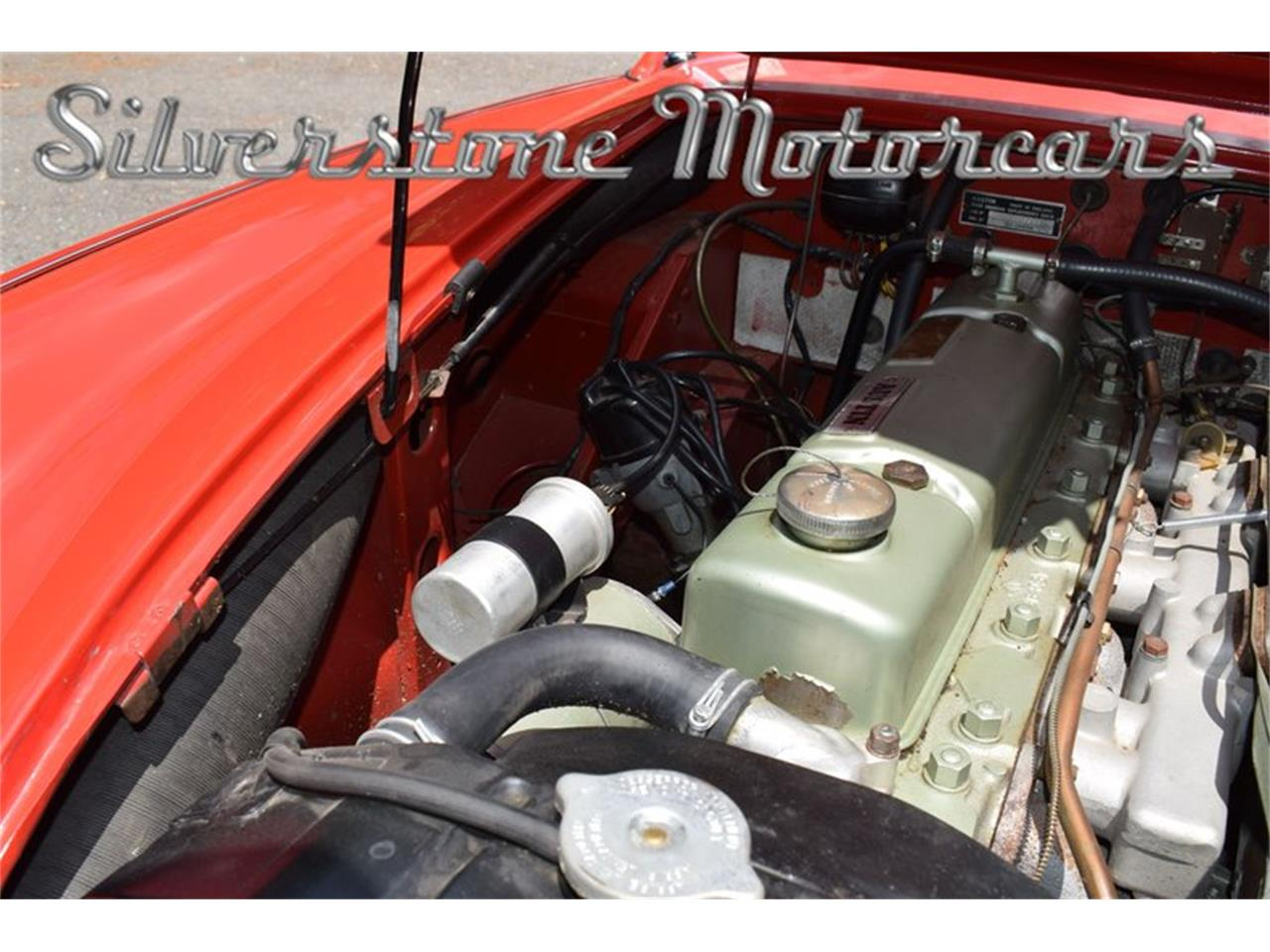 Large Picture of '61 Austin-Healey 3000 located in Massachusetts - $68,500.00 Offered by Silverstone Motorcars - NP0V
