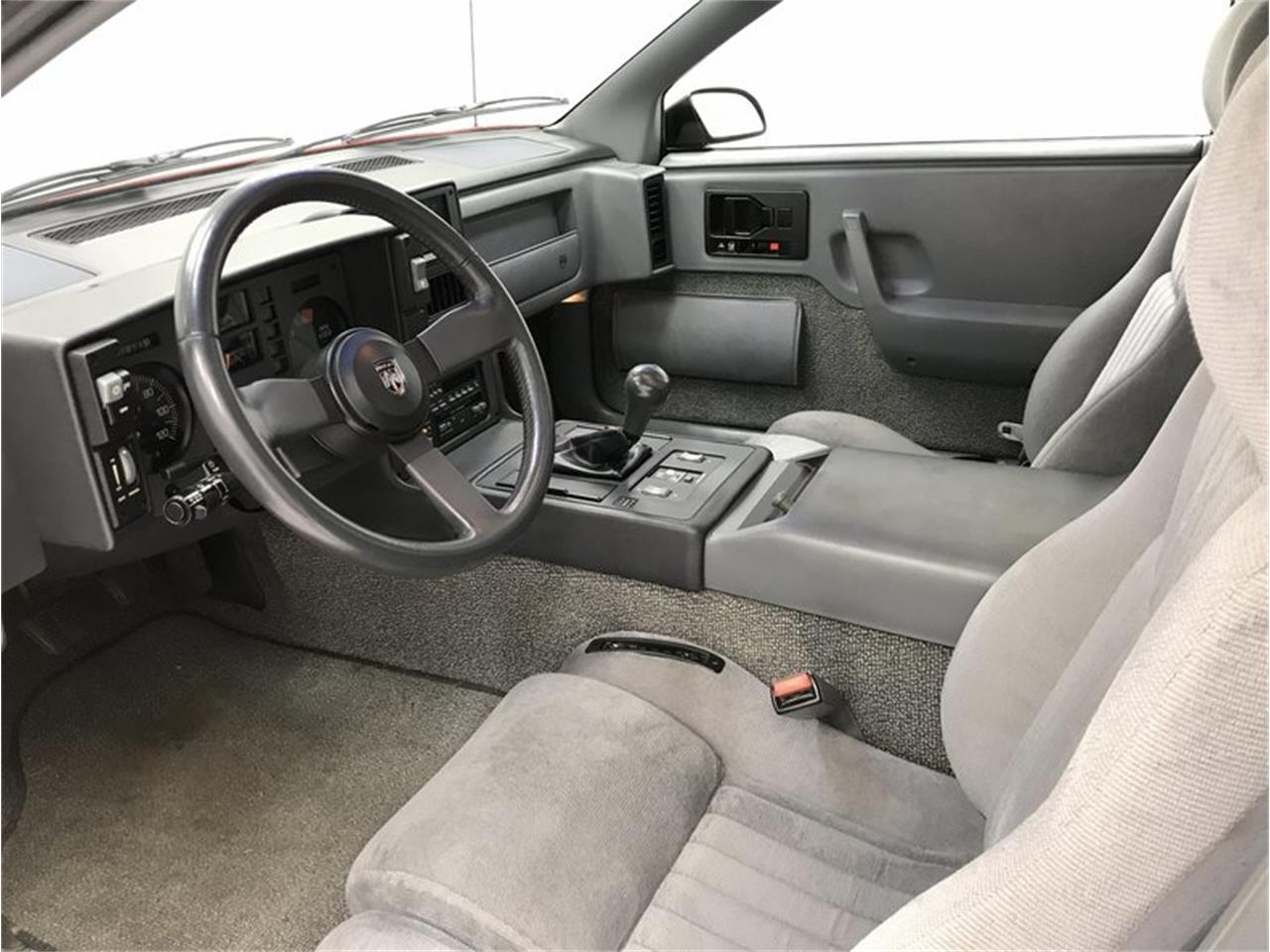 1988 Pontiac Fiero For Sale Cc 1105606 Console Large Picture Of 88 Np3a