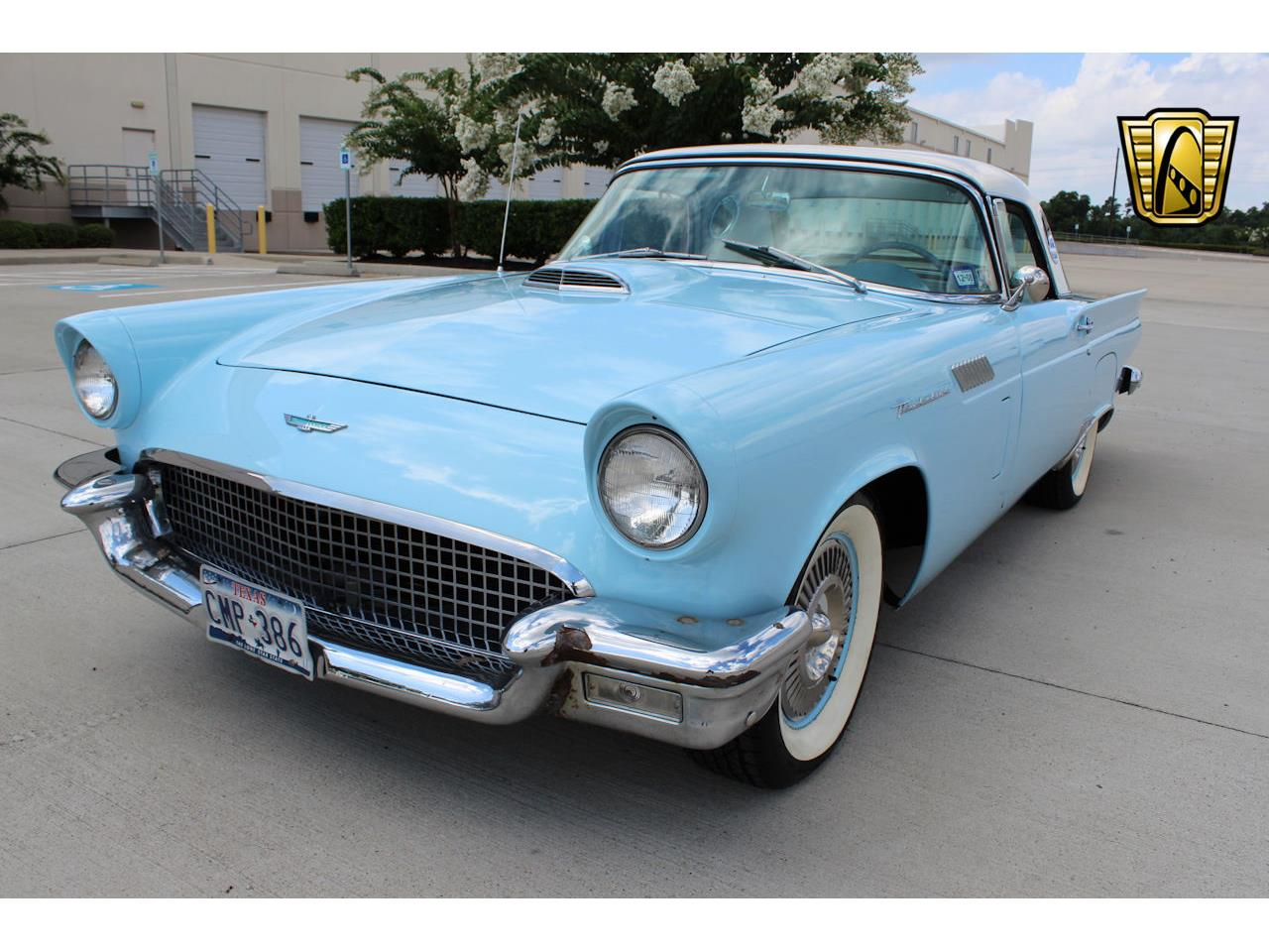 1957 ford thunderbird for sale cc 1105779. Black Bedroom Furniture Sets. Home Design Ideas