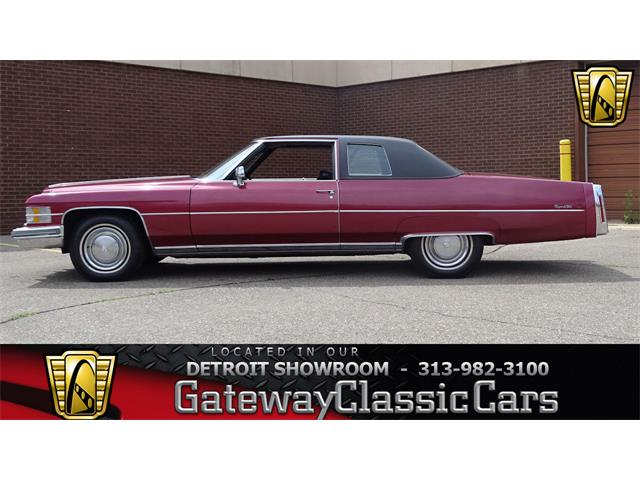 1974 Cadillac Deville For Sale On Classiccars Com