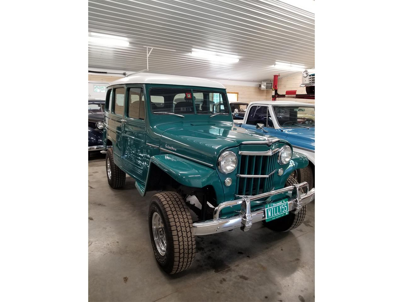 1955 Willys Jeep Wagon For Sale Cc 1105967 1941 Station Large Picture Of 55 Npdb