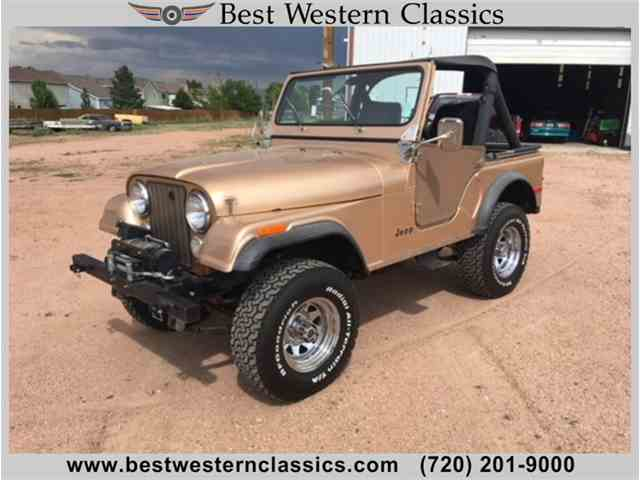Picture of 1980 Jeep CJ5 located in Franktown Colorado - $13,500.00 Offered by  - NL85