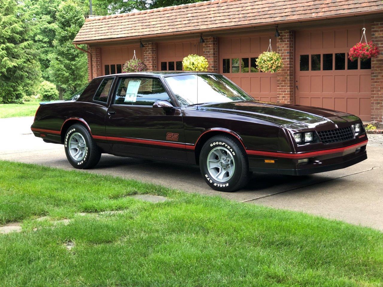 1987 Chevrolet Monte Carlo Ss Aerocoupe For Sale Classiccars Com