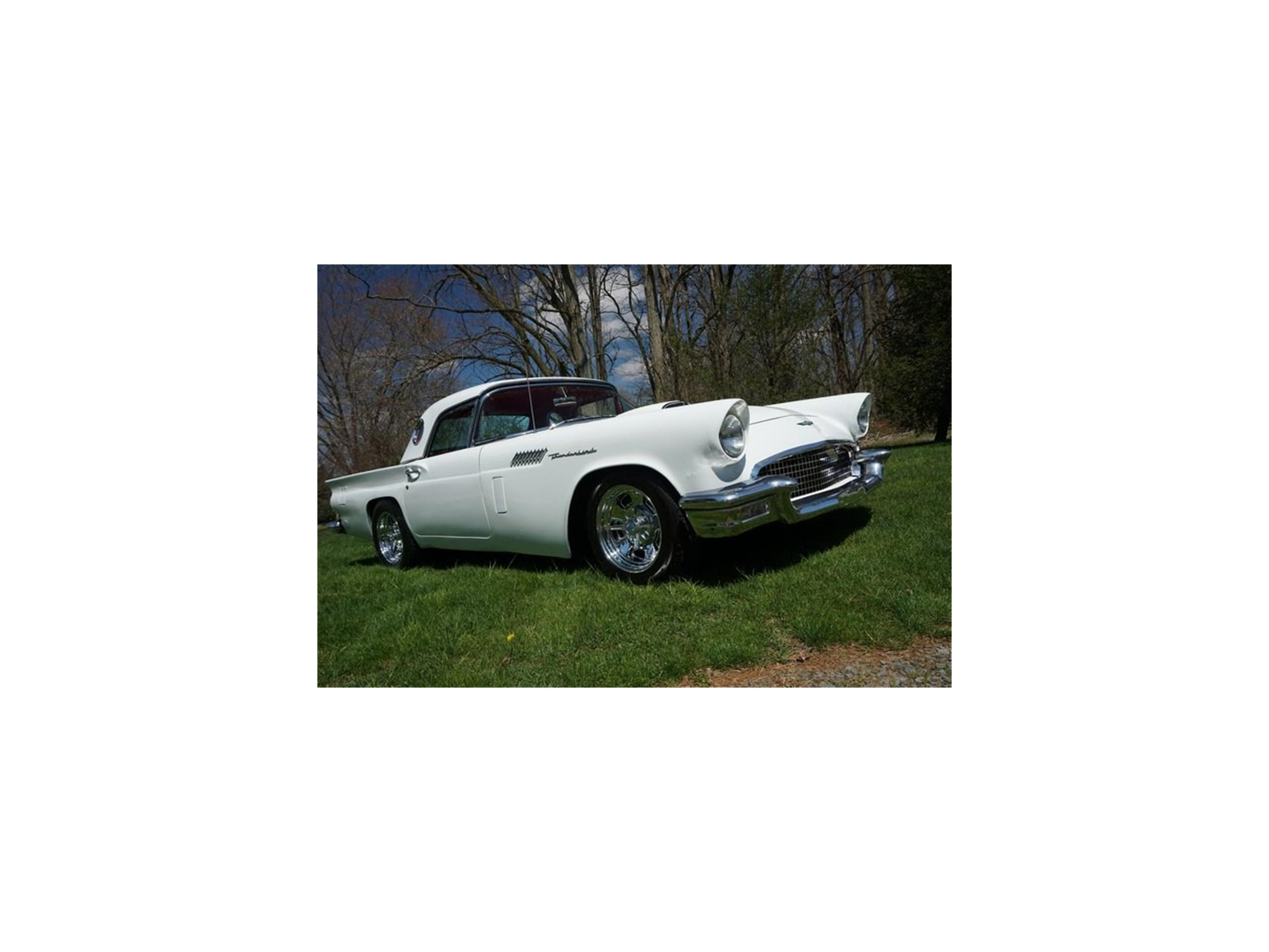 1957 ford thunderbird for sale classiccars cc 1106221 large picture of 57 thunderbird npkd publicscrutiny Images